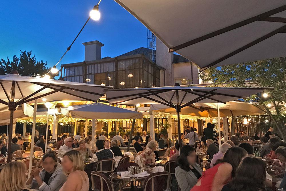 L'Île restaurant bar potager