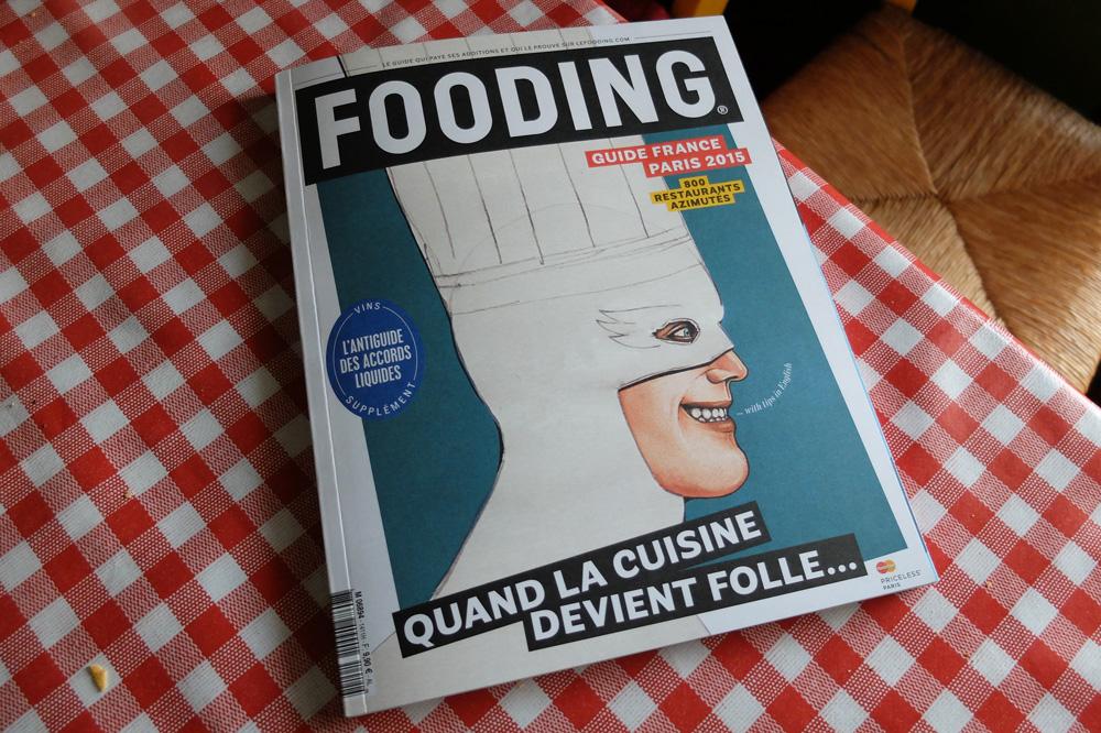 Aucun restaurant boulonnais dans le guide du Fooding 2015