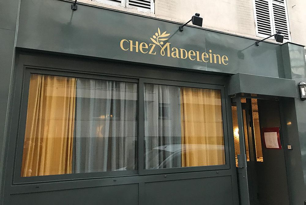 Chez Madeleine ***