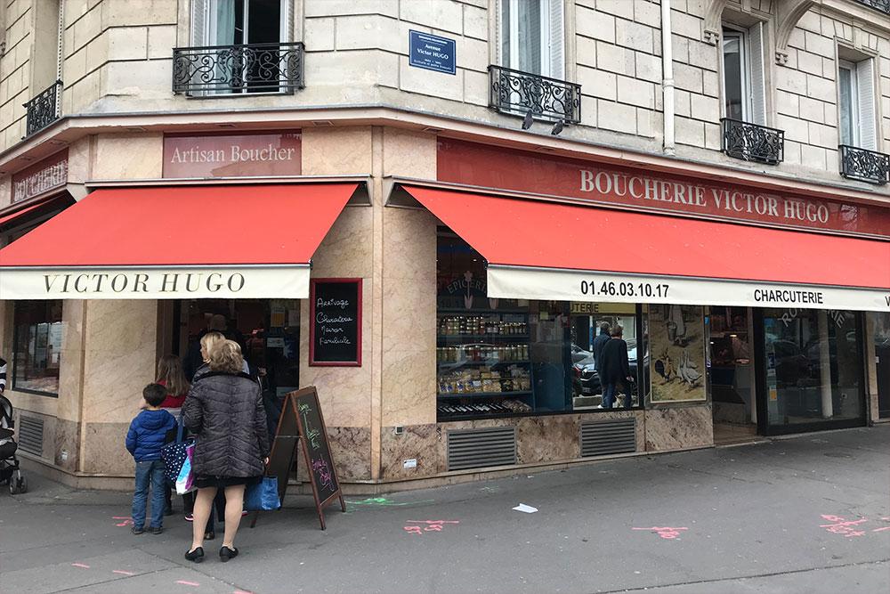 Boucherie Victor Hugo