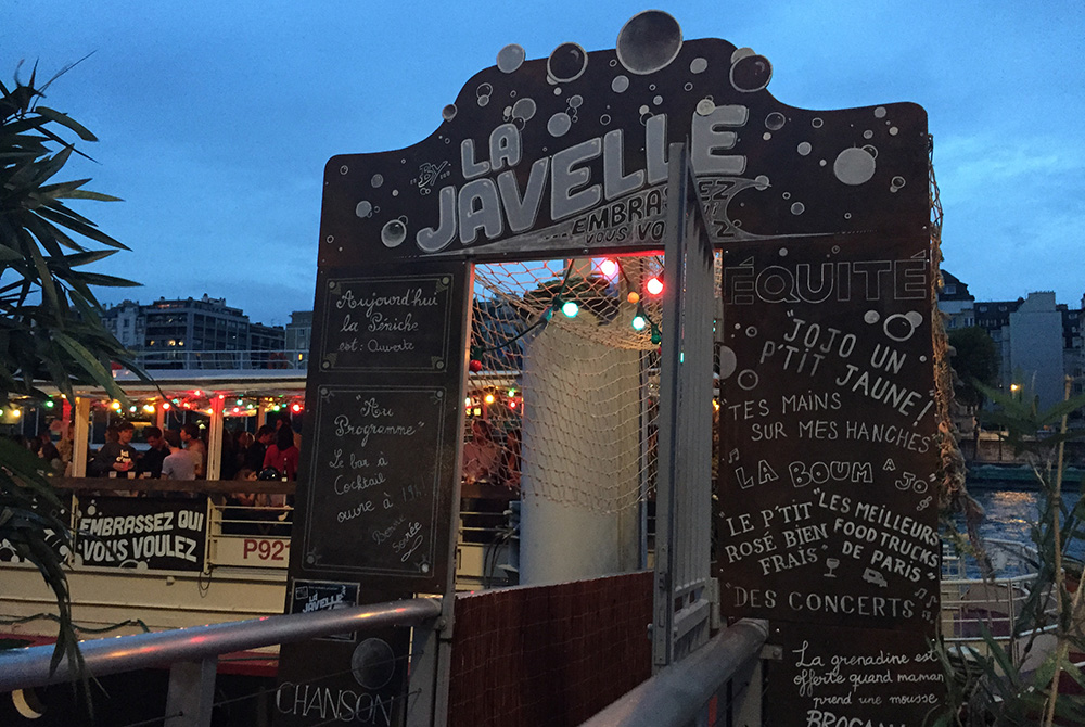 La Javelle Guinguette effervescente