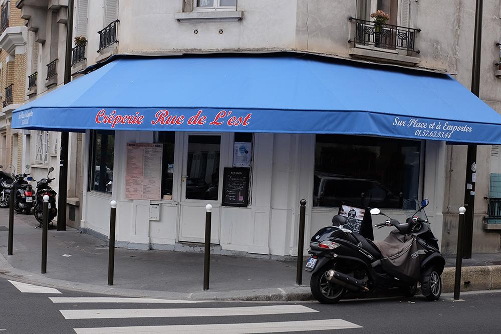 Crêperie Rue de l'Est