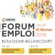 Forum Emploi de Boulogne Billancourt le jeudi 15 février !