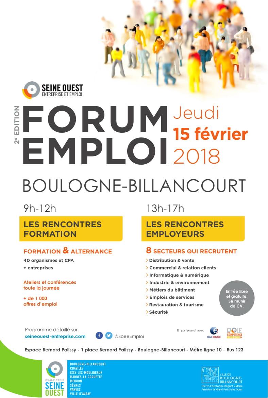 Forum Emploi Boulogne 2018