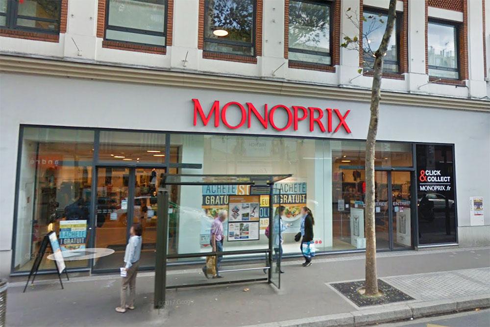 Boucherie du Monoprix Marcel Sembat