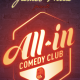 SPECTACLE : On a testé le « All-in », le Comedy Club de Boulogne !