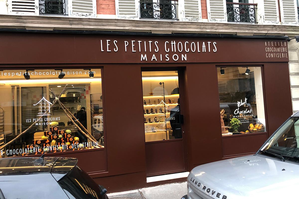 Les Petits chocolats maison