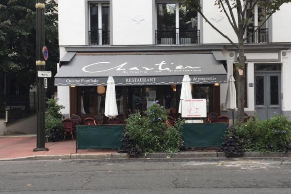 Restaurant Laure et Thomas Chartier